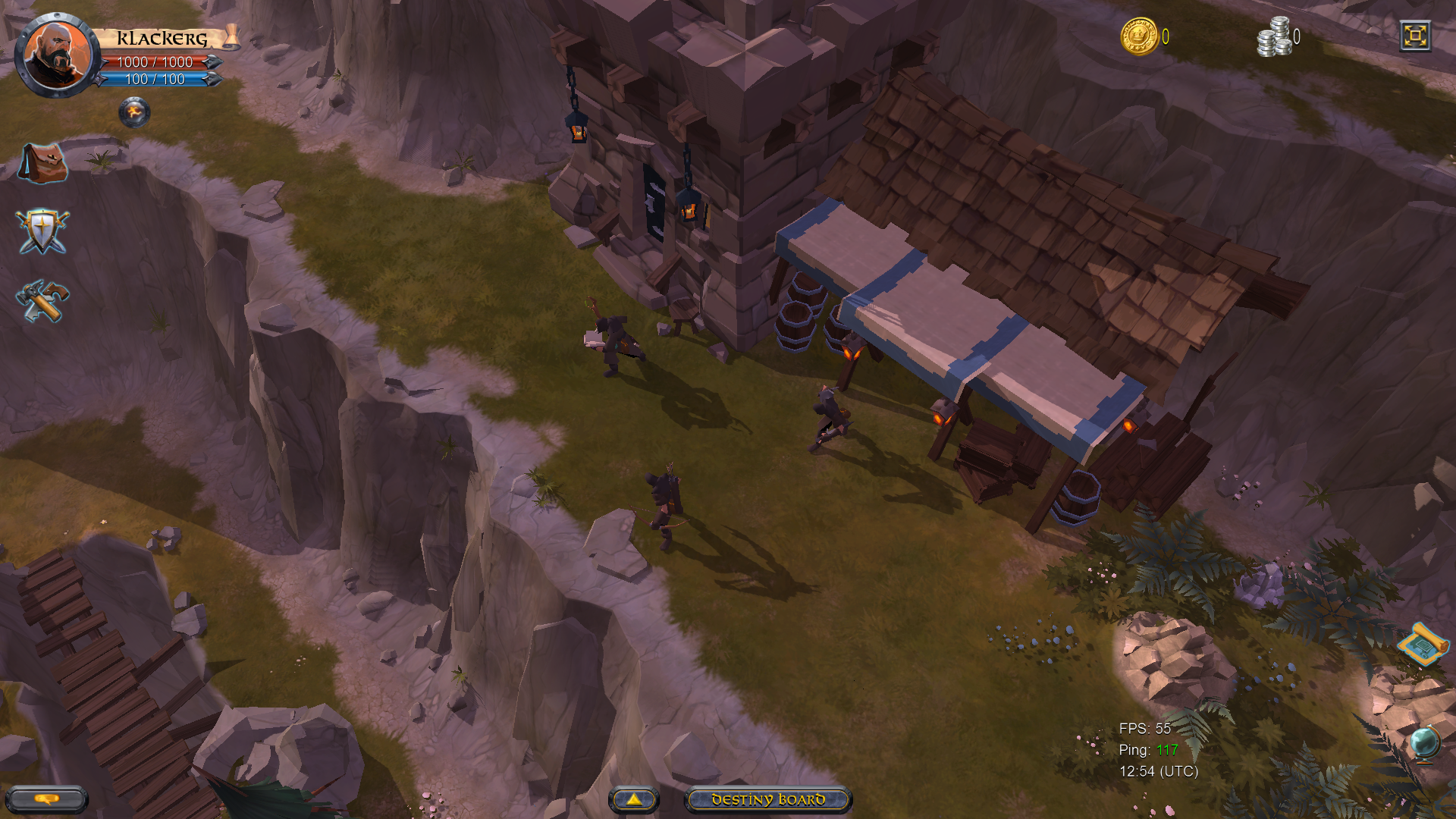 Albion Online Cross-Platform Video Shows Real-Time Simultaneous Gameplay